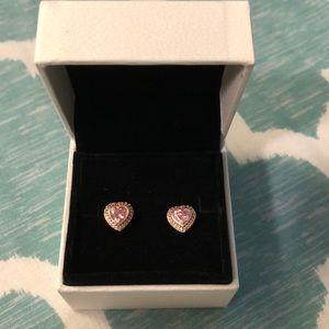 Brand New Pandora heart earring